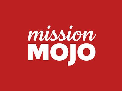 Mission Mojo icon vector typography illustration brand identity brand identity design branding minimal