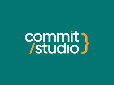 Commit Studio Remix branding illustration brand identity icon agency developer coding clean brand minimal logo code