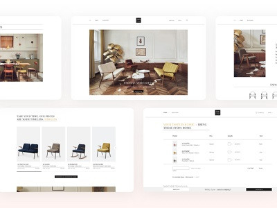 366 Concept ecommerce ui conversion website webdesign designer layout design adchitects