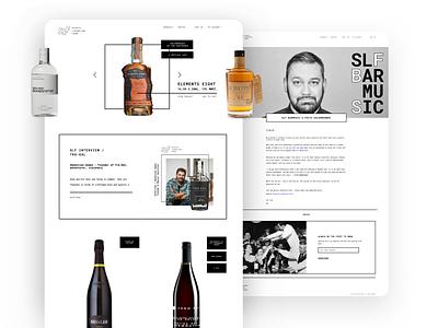 SLF - Concept Liquor eCommerce ecommerce ui designer conversion website webdesign layout design adchitects