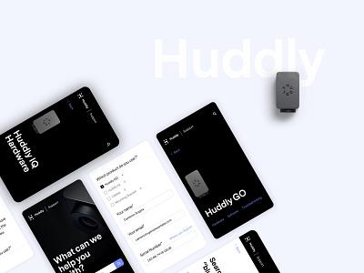 Huddly: smart conference cameras conference meeting cameras ux support ui designer conversion website webdesign layout design adchitects