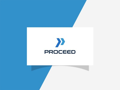 Proceed illustration design logo logodeaign graphic icon graphic design branding logo design logo logo icon