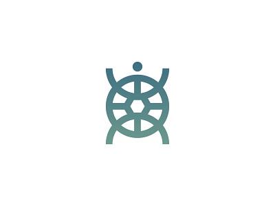 Sea Turtle illustration design logo logodeaign graphic icon graphic design branding logo design logo logo icon