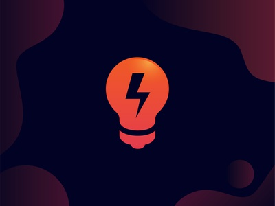 Bulb ui illustration design logo logodeaign graphic icon graphic design branding logo design logo logo icon