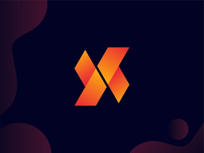 Alphabet X Logo ui illustration design logo logodeaign graphic icon graphic design branding logo design logo logo icon