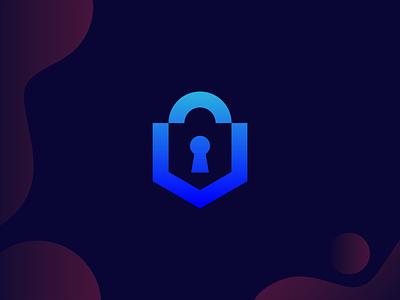Lock Logo Mark illustration design logo logodeaign graphic icon graphic design branding logo design logo logo icon