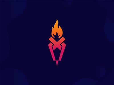 Torch Logo Mark ui illustration design logo logodeaign graphic icon graphic design branding logo design logo logo icon