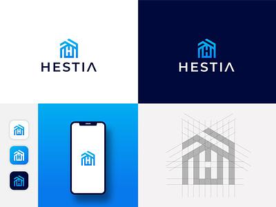 HESTIA - Logo Desgin illustration design logo logodeaign graphic icon graphic design branding logo design logo logo icon