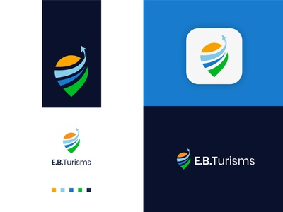 EBTurisms - Logo Design illustration design logo logodeaign graphic icon graphic design branding logo design logo logo icon