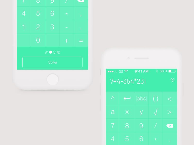 Tiger Algebra Calculator explorations by Anne Freude - Dribbble