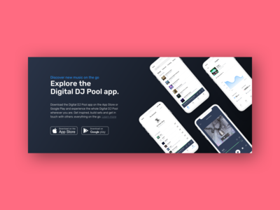 Digital DJ Pool - App Store banner