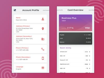 Credit Card Monitoring - Fintech Application