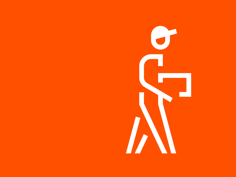 Delivery outline delivery pictogram icon