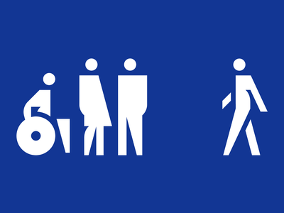 GPB pictograms woman man exit wc disablet wayfinding gpb signage pictogram icon