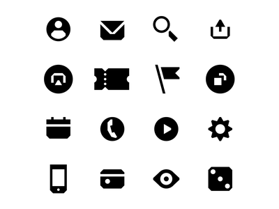 Fonbet icons explorations iconsystem iconset pictogram icon