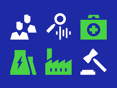Icons for biometrics app recognition biometric voice face branding identity iconset iconsystem grid pictogram icon