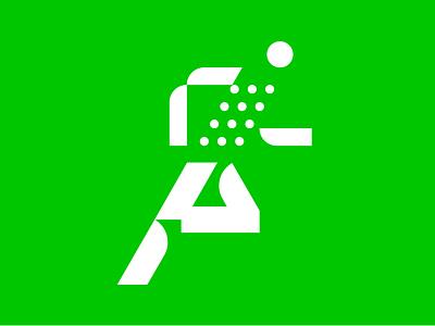 Runner picto olympic test running runner pictogram icon