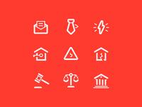 Lawya icons
