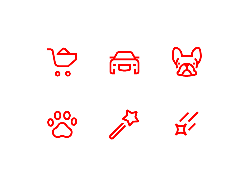 Evgeniy artsebasov verb icons