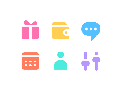 Glyphs icons ux