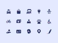 GoEuro icons