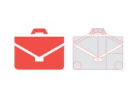 Briefcase grid