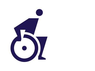 Disabled picto wayfinding signage disabled pictogram icon