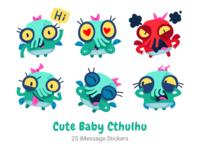 Cute Baby Cthulhu