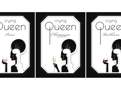 Crying Queen Wine Labels