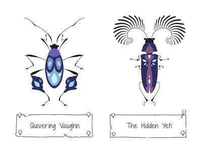 30 Days of Beetles: Days 13 & 14