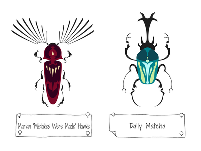 30 Days of Beetles: Days 19 & 20