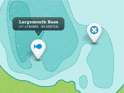 Windigo topography blue green personal fish location coordinates map minnesota lake depth map for fun