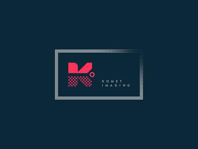Branding Komet Imaging typography vector design logo branding