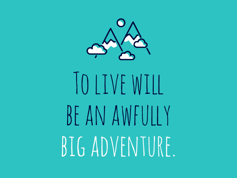 Peter Pan Quote By Aj On Dribbble