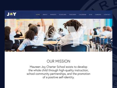 Maureen Joy Charter School Website Redesign