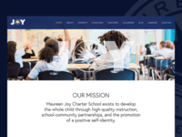 Maureen Joy Charter School Website Redesign
