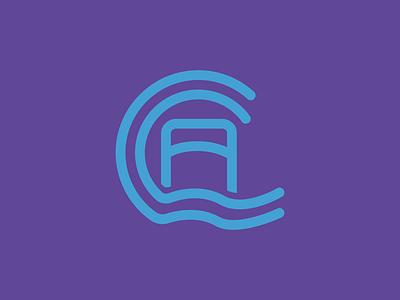 Carloway Community Association Logo illustrator flow community scotland icon design icon bridge water logo logo design