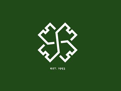 Celtic Supporters Club football club ireland irish clover logo nature heritage castle crest football celtic