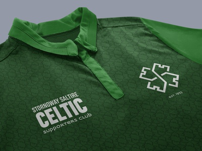 Celtic Polo Shirt Design scotland branding clothing design pattern ireland irish celtic merchandising merchandise design clothing merchandise logo vector graphic design