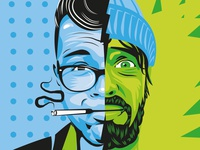 CMB & ROSCO Portrait Illustration
