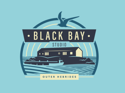 Black Bay Studio Logo