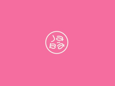 Jàba Noodles – Main Icon typography logo icon design branding vector mplsminn design