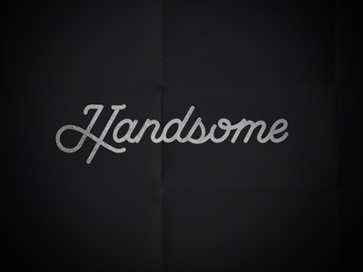 Handsome Cycles – Wordmark