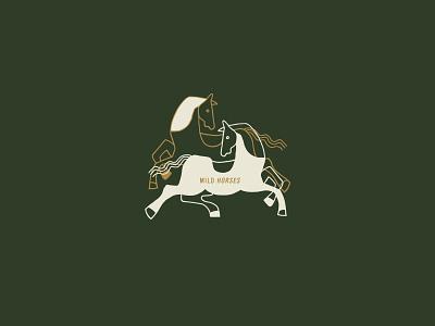 Mild Horses illustration mplsminn design