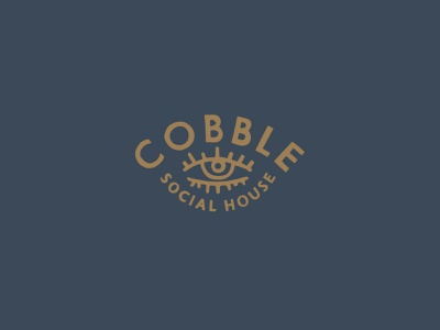Cobble Social House – Logo icon design logo brand identity typography mplsminn illustration branding vector design