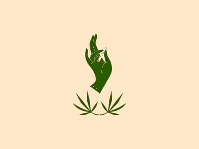 Puff, Puff, Pass 420 weed icon mplsminn illustration vector design