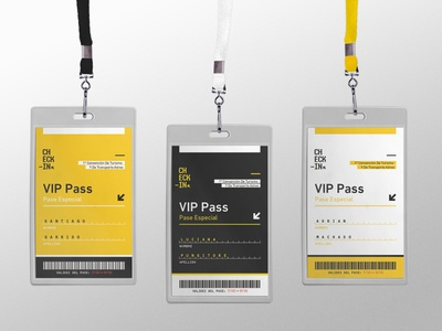 Check-in | Branding trip travel festival passport check-in typography yellow design ux ui branding brand boardingpass boarding airlines event vip pass pass vip check in