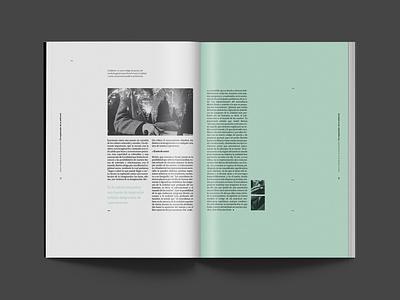 Hacedores de Mundo | Magazine typography text surrealistic surrealism publising photoshop magazine indesign illustrator green editorial design book art andre breton