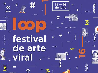 Loop | Poster branding funny lol concert challange gif animated gif art gif animation internet meme online google web gif videos vimeo youtube art loop festival