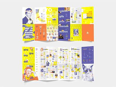 Loop | Desplegable challenge branding illustrator editorial fish funny fun cute nice banana fest festival pics grumpy cat willy wonka meme video gif viral loop